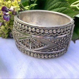 ❇️Vintage Silver Cuff Bracelet